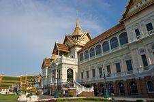 Grand Palace Bangkok Thailand. Royalty Free Stock Images