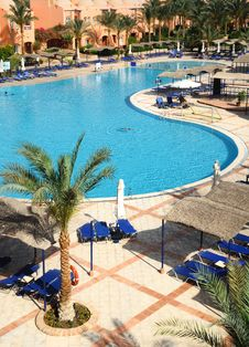 Free Summer Resort In Arabian Style Royalty Free Stock Photos - 13716548