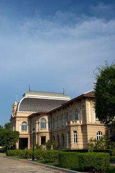 Grand Palace Bangkok Thailand. Royalty Free Stock Photos