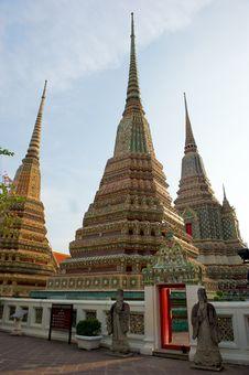 Free Grand Palace Bangkok Thailand. Stock Photography - 13716672