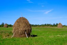 Free Haystack Royalty Free Stock Images - 13716699