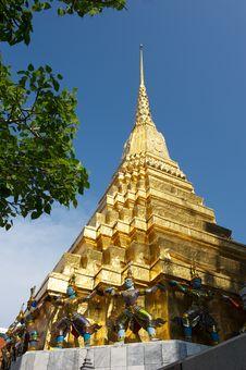 Free Grand Palace Bangkok Thailand. Stock Image - 13716741