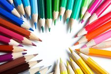 Free Colorful Pencils Royalty Free Stock Images - 13716799