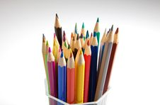 Free Colorful Pencils Stock Photo - 13716930