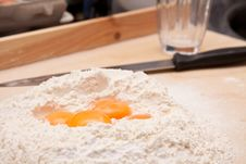 Free Eggs And Flour Royalty Free Stock Photography - 13717757