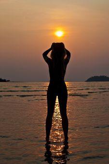 Free Sunset Royalty Free Stock Photos - 13718018