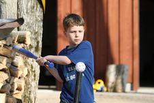 Free Boy Playing Ball Stock Photo - 13718190