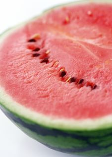 Free Half Of Juicy Watermelon Royalty Free Stock Photos - 13718578
