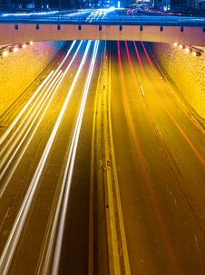 Free Night Highway Stock Photos - 13719653