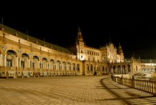 Free Plaza De España Stock Photography - 13719662