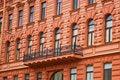 Free Facade Of Red Building Stock Photos - 13724473
