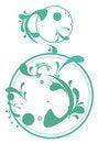 Free Green Plant Pattern Stock Image - 13727501