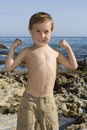 Free Boy At The Beach Royalty Free Stock Image - 13727896
