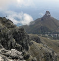 Free Panoramic View Of Lions Head Stock Photography - 13728642