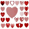 Free Lots Of Heart Designs Set 02 Stock Photos - 13729343