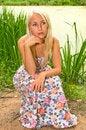 Free Thoughtful Woman Stock Image - 13729901