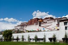 Free The Potala Palace Stock Photography - 13720812