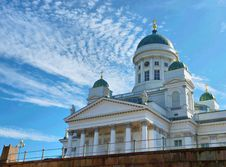 Free The Lutheran Cathedral In Helsinki Stock Image - 13720851