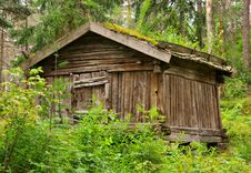Old Finnish Barn Stock Photography