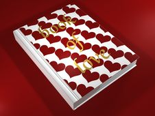 Free Book Of Love - 3D Stock Images - 13721424
