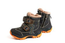 Children S Boots Royalty Free Stock Photography