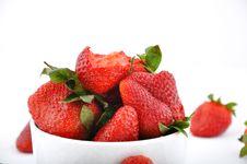 Free Strawberries Royalty Free Stock Photo - 13721895