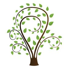Free Tree Drawing Royalty Free Stock Photo - 13722075
