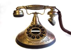 Free Old Phone Royalty Free Stock Image - 13723116
