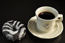 Free Coffee And Donut Stock Images - 13723444