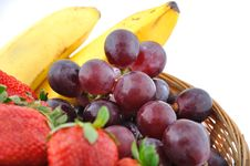 Free Basket Of Fruits Royalty Free Stock Photography - 13723727