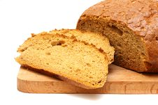 Free Bread On A Wooden Board Royalty Free Stock Images - 13724189