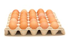 Free Brown Eggs Stock Image - 13724221