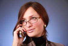 Free Woman Talking Stock Photo - 13724450