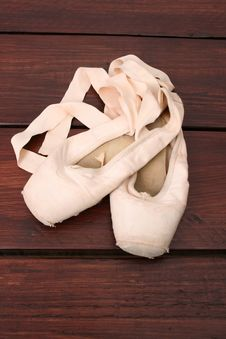 Free Ballet Shoes Stock Image - 13724801