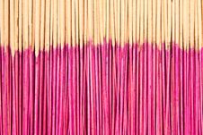 Free Joss Sticks Royalty Free Stock Image - 13726216