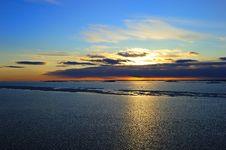 Free Winter Sunset Stock Image - 13726381