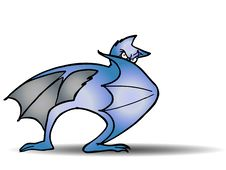 Free Bat Hide Royalty Free Stock Photo - 13726695