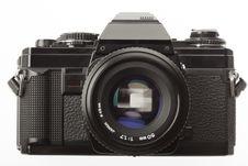 Free Black SLR Camera From 1980 Royalty Free Stock Photo - 13727035