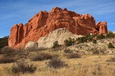 Free Red Rock Formation Stock Photos - 13727133