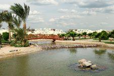 Free View At Lake In Summer Resort Royalty Free Stock Image - 13727136