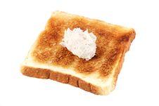 Free Mayonnaise Tuna Bread Stock Image - 13727571
