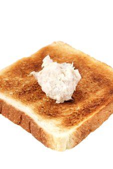 Free Mayonnaise Tuna Bread Royalty Free Stock Photography - 13727587