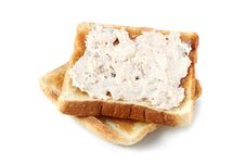 Free Mayonnaise Tuna Bread Stock Photography - 13727592