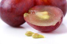 Free Grapes Royalty Free Stock Photo - 13727635