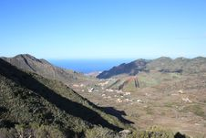 Free Canary Islands, Mountains And Valleys Royalty Free Stock Image - 13728046