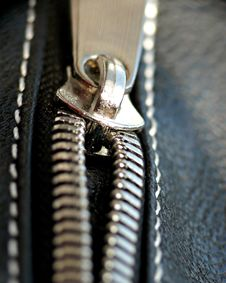 Free Zipper Close-up Stock Photography - 13728182