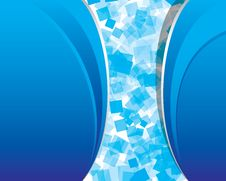 Free Abstract_blue_background_with_transparent_squares Stock Images - 13728304