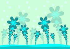 Free Abstract Flower Background Royalty Free Stock Image - 13728636