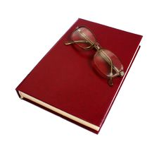 Free Book And Glasses Royalty Free Stock Image - 13729196