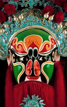 Free China Mask Royalty Free Stock Photos - 13729378